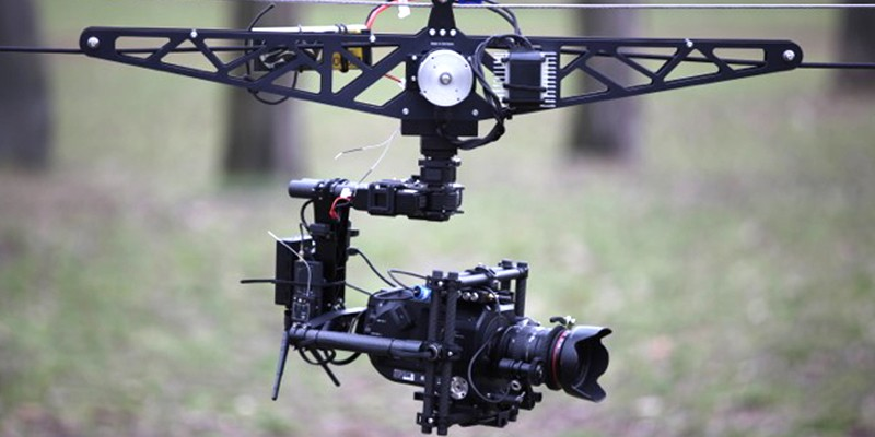 Flycam Camera Motion Unit