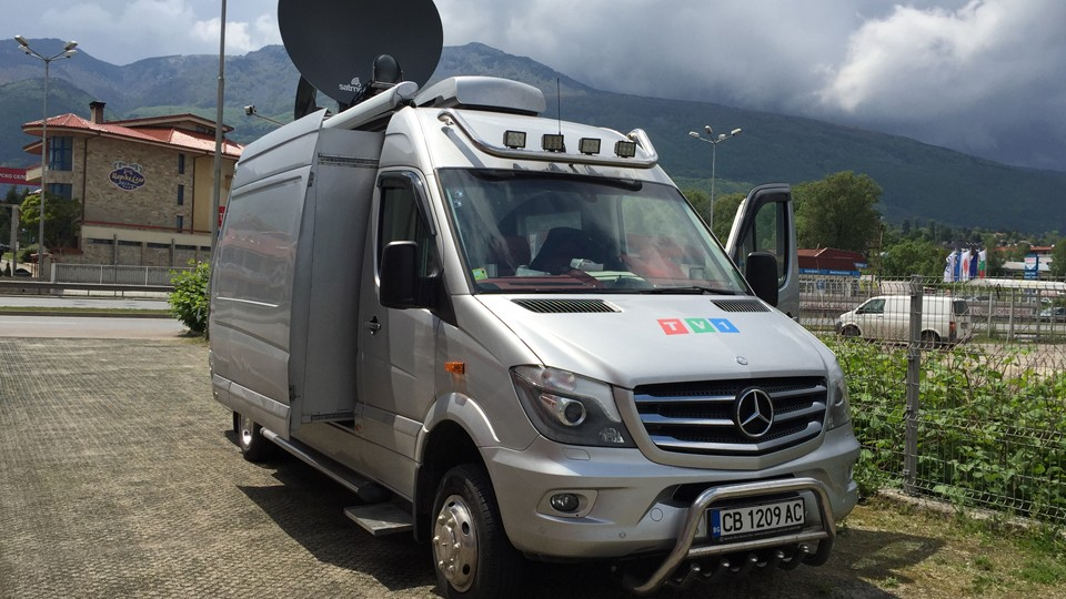 HD DSNG Van Ku-Band Image 5