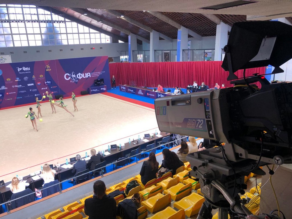 The competition for the Rhythmic Gymnastics Sofia Cup