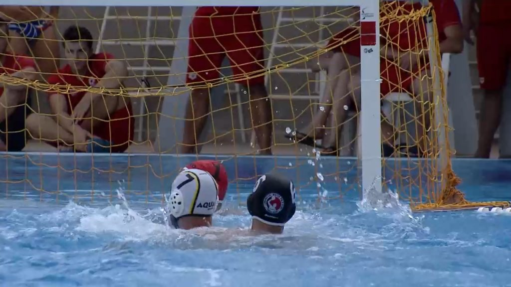 TV1 team broadcasted the semifinals and finals of the State Men's Water Ball Championship