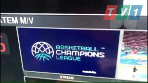 TV1 Broadcast and the qualifications for the Basketball Champions League
