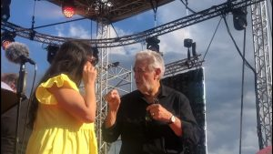 TV1 Broadcast made the video realization of the concert of Sonya Yoncheva and Placido Domingo